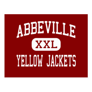 Abbeville - Yellow Jackets - Middle - Abbeville Postcard