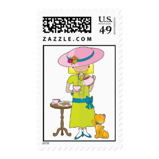 Abbey Dress Up Dress Up Stamp