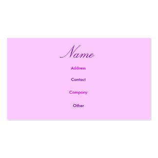 Abbey I Profile Card