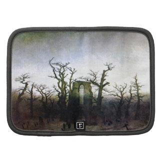 Abbey in an Oak Forest by Caspar David Friedrich Folio Planner