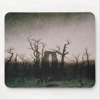 Abbey in the Oakwood, 1810 Mouse Pad