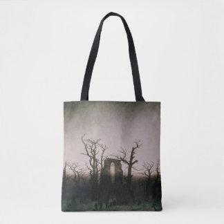 Abbey in the Oakwood, 1810 Tote Bag