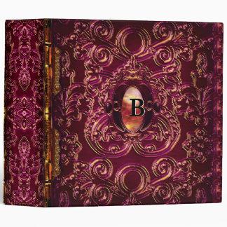 Abbey Keet  Victorian Vinyl Binder