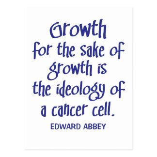 Abbey on Growth Postcard