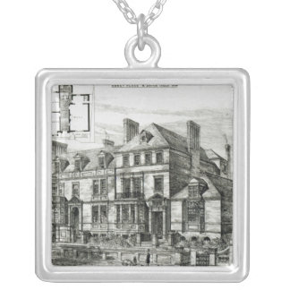 Abbey Place, St.John's Wood Silver Plated Necklace