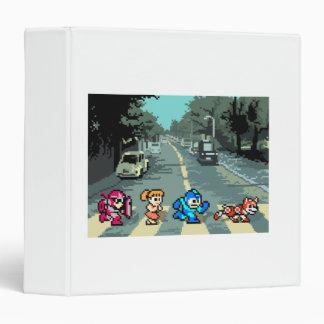 Abbey Road 8-Bit Vinyl Binder