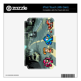 Abbey Road 8-Bit Decal For iPod Touch 4G
