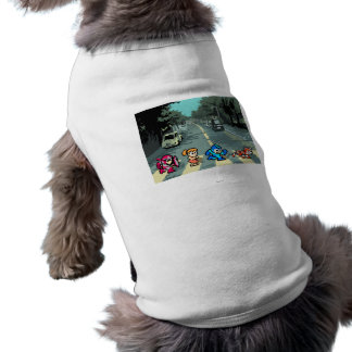 Abbey Road 8-Bit Dog Shirt