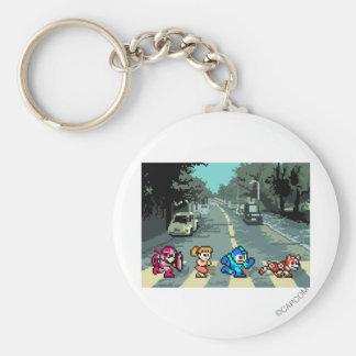 Abbey Road 8-Bit Keychains