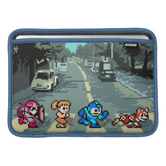 Abbey Road 8-Bit MacBook Sleeves