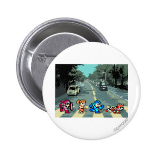 Abbey Road 8-Bit Pinback Buttons