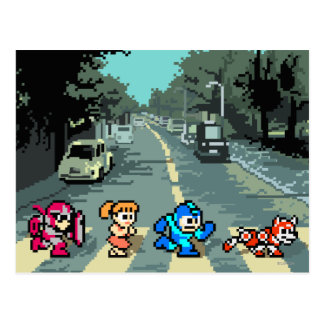 Abbey Road 8-Bit Post Cards