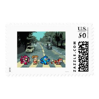 Abbey Road 8-Bit Postage