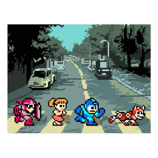 Abbey Road 8-Bit Postcard