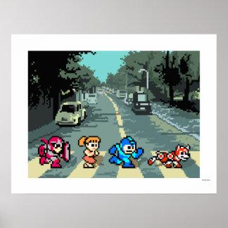 Abbey Road 8-Bit Posters