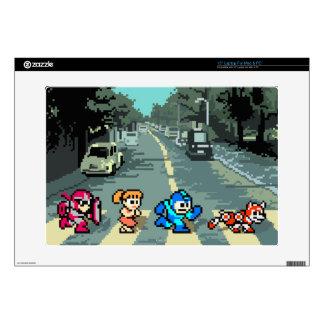 Abbey Road 8-Bit Skin For Laptop