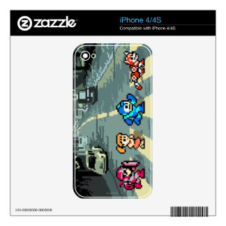 Abbey Road 8-Bit Skin For The iPhone 4S