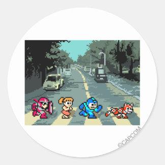 Abbey Road 8-Bit Stickers