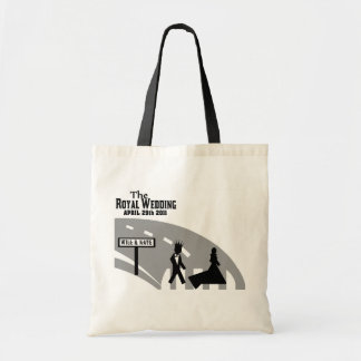 Abbey Road Crossing Royal Wedding Tote Bag