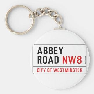 Abbey Road Keychain