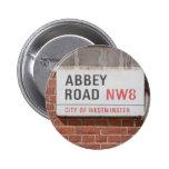 Abbey Road London Button
