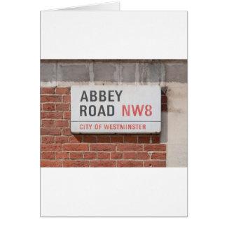 Abbey Road London Card