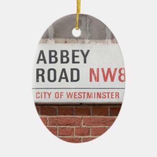 Abbey Road London Ceramic Ornament