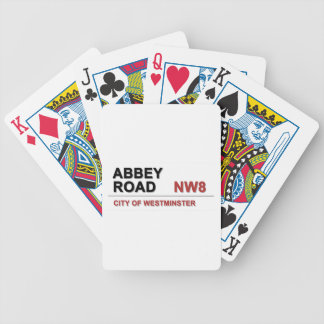 Abbey Road London England - vintage Bicycle Playing Cards