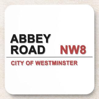 Abbey Road London England - vintage Drink Coaster