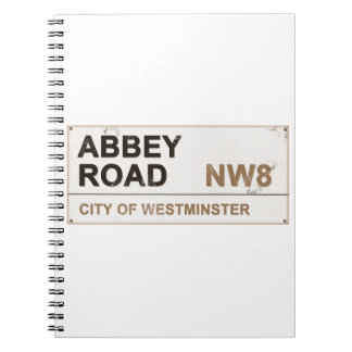 Abbey Road London England - vintage Note Books