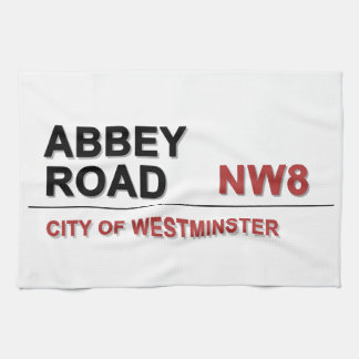 Abbey Road London England - vintage Towels