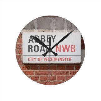 Abbey Road London Round Clock