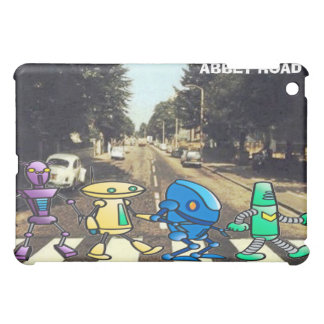 Abbey Road Robots  Cover For The iPad Mini