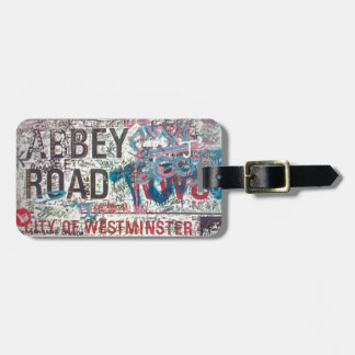 Abbey Road Sign Bag Tags
