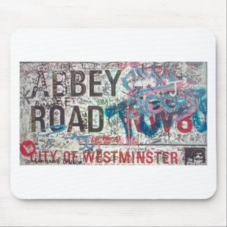 Abbey Road Sign Mouse Pad