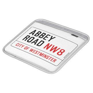 Abbey Road Street Sign iPad Sleeves