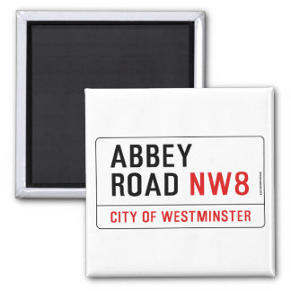 Abbey Road Street Sign Fridge Magnets