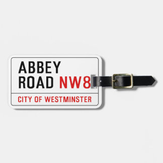 Abbey Road Travel Bag Tags