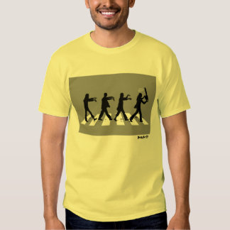 Abbey Road Zombie Edition Tee Shirt