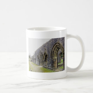 Abbey ruins coffee mug