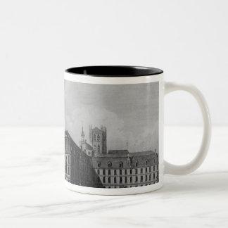 Abbey Saint-Genevieve, Paris Two-Tone Coffee Mug