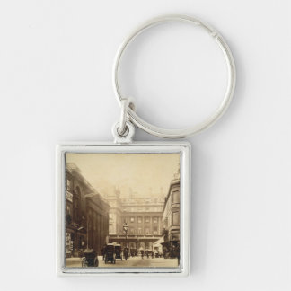 Abbey Square and Pump Rooms, Bath, c.1880 (b/w pho Keychain
