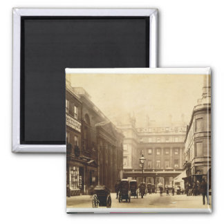 Abbey Square and Pump Rooms, Bath, c.1880 (b/w pho 2 Inch Square Magnet