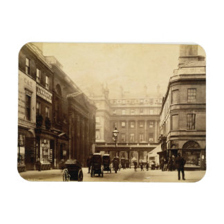 Abbey Square and Pump Rooms, Bath, c.1880 (b/w pho Rectangular Photo Magnet
