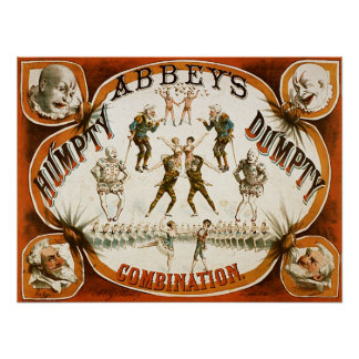 Abbey's Humpty Dumpty Combination Circus Posters