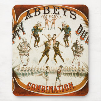Abbey's Humpty Dumpty Combination Circus Poster Mouse Pad