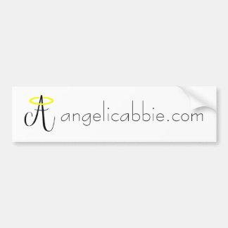 Abbie angelical - pegatina para el parachoques pegatina para auto