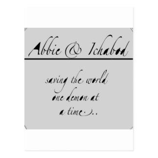 Abbie e Ichabod Postal