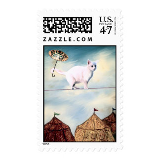Abbie Goes to the  Circus Postage