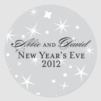 Abbie New Year's Eve Sticker